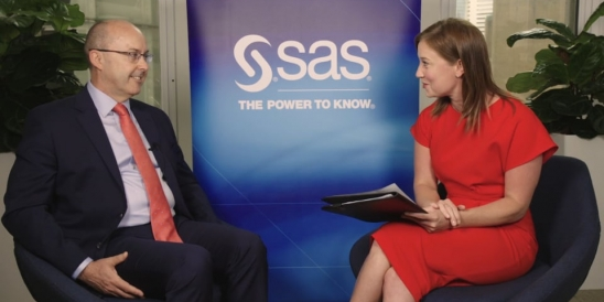 Image for Paul Franks of SAS discusses cyber security and analytics in Part 1 of an exclusive 3-Part Series