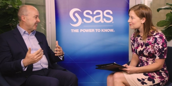Image for Paul Franks of SAS discusses the automation era and big data in Part 3 of an exclusive 3-Part Series