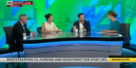 Image for Entrepreneurs Masterclass Series - Episode 2 'Bootstrapping/ Investment/ Culture/ Comms. (Part 1), Sky News - Business: 11.4.1