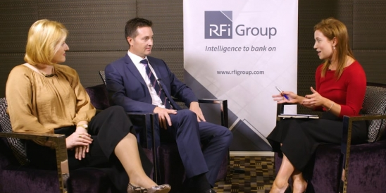 Image for RFiTV talks to Richard E. Parker, VP Financial Services and Nicholle Lindner, Financial Services Leader, Unisys
