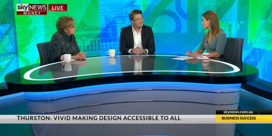 Image for Sky News - Business; The Australian 'Good Design Awards' Special - (2 of 2) with Dr. Brandon Gien & Maureen Thurston 6 June 2017